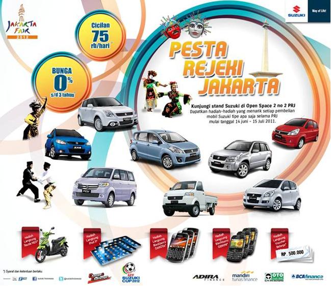 Paket Suzuki Promo PRJ