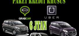 Paket Kredit Uber Taksi & Grab Taksi