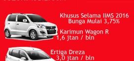Promo Suzuki Mobil IIMS 2016