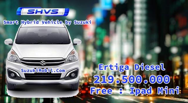 Harga Suzuki Ertiga Diesel SHVS