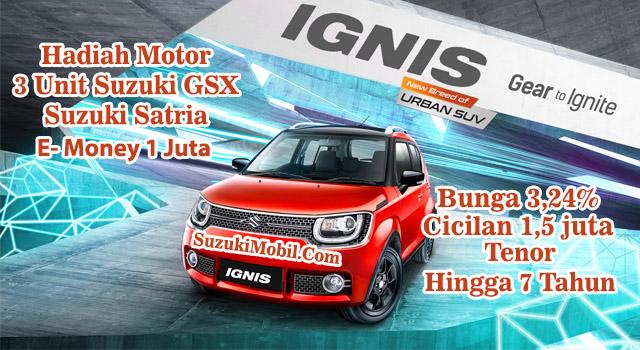 Promo Suzuki Ignis Cicilan 1,5 juta