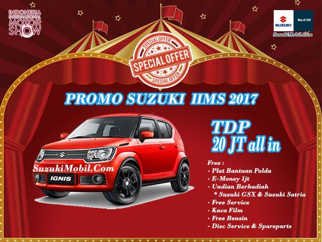 Promo Suzuki Ignis IIMS 2017