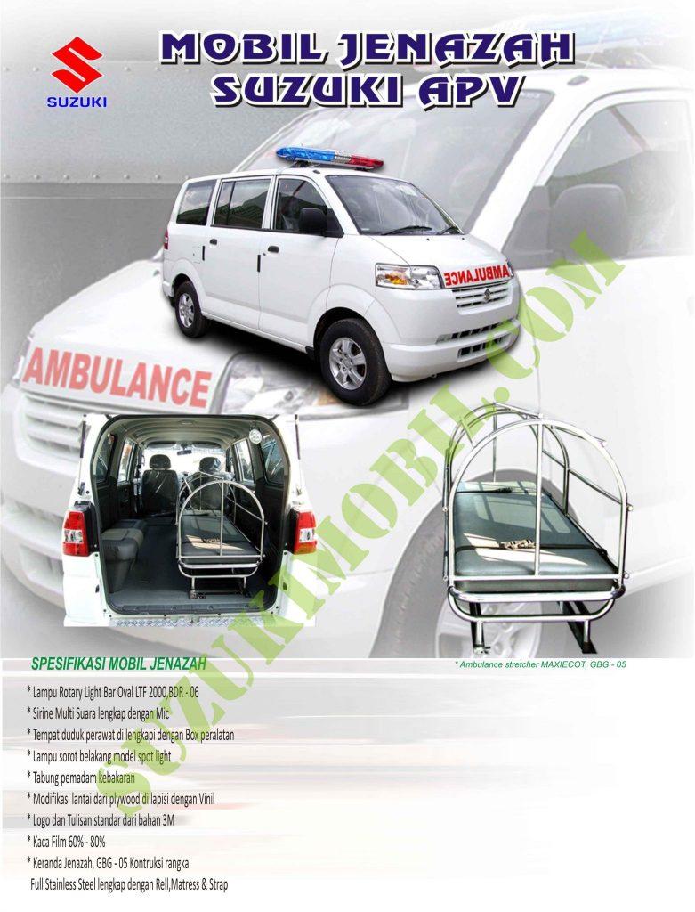 suzuki apv ambulance jenazah