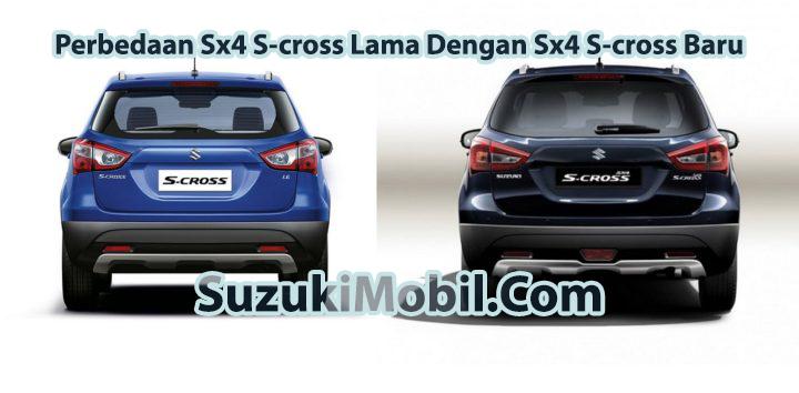 Perbedaan Sx4 S-cross Lama Dengan Sx4 S-cross Baru tampilan belakang