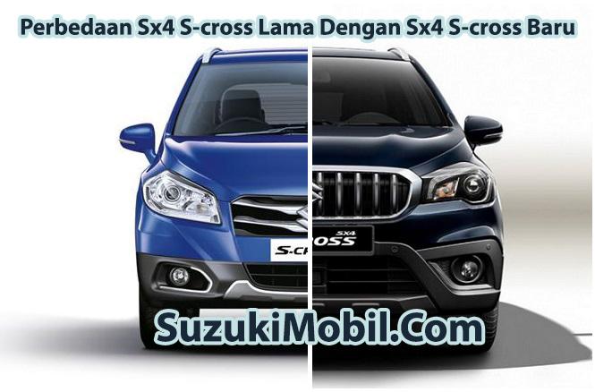 Perbedaan Sx4 Scross Lama Dengan Sx4 Scross Baru