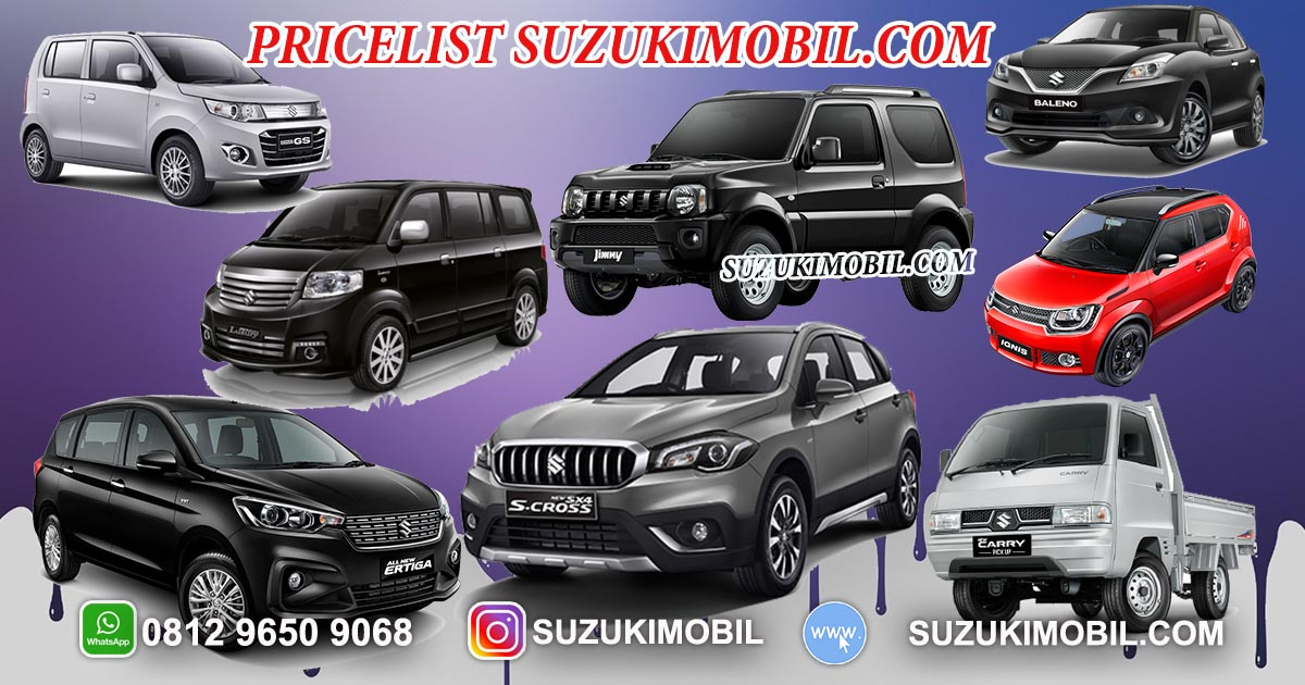 Price List Mobil Suzuki Daftar Harga Suzuki Mobil