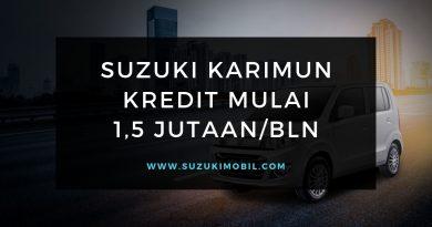 Kredit Karimun Wagon R Cicilan 1,5 jutaan / Bulan