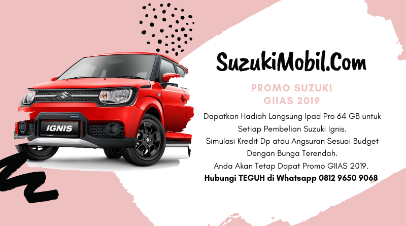 Promo Suzuki Ignis Giias 2019