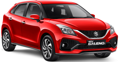 Suzuki Baleno SOLID FIRE RED