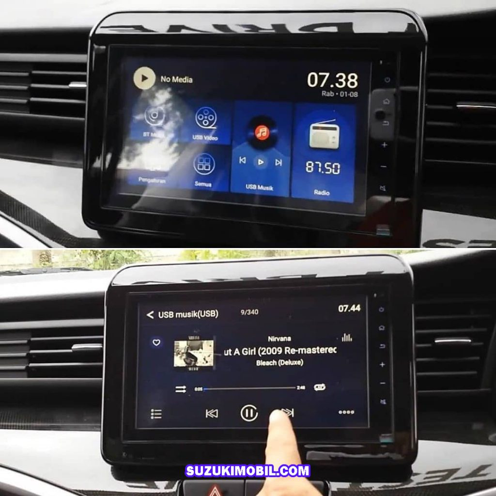 head unit audio suzuki xl7