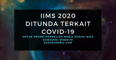 Promo Suzuki IIMS 2020