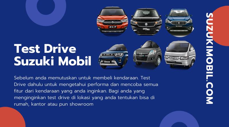 Test Drive Suzuki Mobil